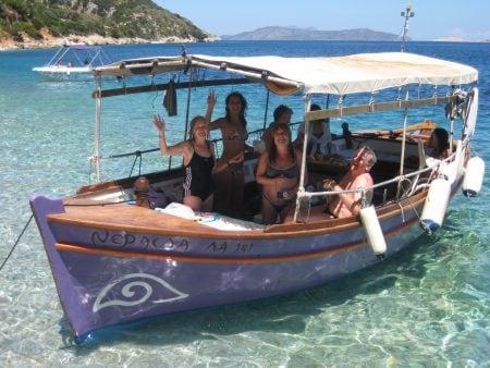 giorgo's boat trip